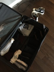 Packing up